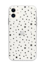 FOONCASE iPhone 12 Mini hoesje TPU Soft Case - Back Cover - Stars / Sterretjes