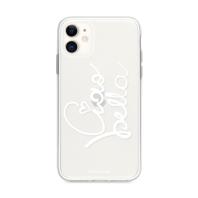 FOONCASE iPhone 12 Mini hoesje TPU Soft Case - Back Cover - Ciao Bella!