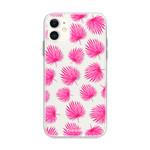 FOONCASE iPhone 12 Mini - Rosa Blätter
