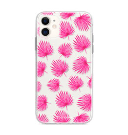 FOONCASE iPhone 12 Mini - Pink leaves