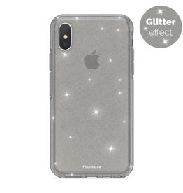 FOONCASE iPhone XS - Christmas Glamour Black (Glitters)