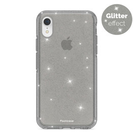 FOONCASE iPhone XR - Christmas Glamour Black (Glitters)