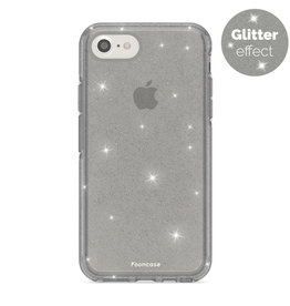 FOONCASE iPhone 8 - Christmas Glamour Black (Glitters)