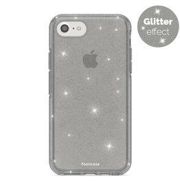 FOONCASE iPhone SE (2020)- Christmas Glamour Black (Glitters)