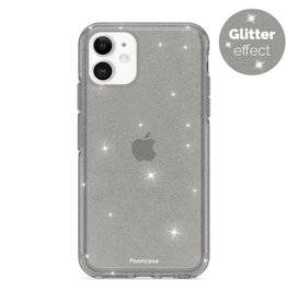 FOONCASE iPhone 12 - Christmas Glamour Black (Glitters)