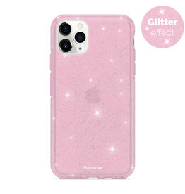 FOONCASE iPhone 11 Pro Max - Christmas Glamour Pink (Glitters)