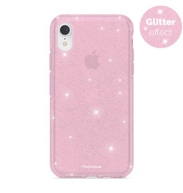 FOONCASE iPhone XR- Christmas Glamour Pink (Glitters)