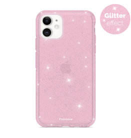 FOONCASE iPhone 12 - Christmas Glamour Pink (Glitters)