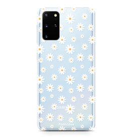 FOONCASE Samsung Galaxy S20 FE - Madeliefjes