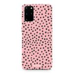 FOONCASE Samsung Galaxy S20 FE - POLKA COLLECTION / Pink