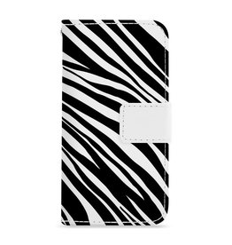 FOONCASE iPhone 5/5s - Zebra - Booktype