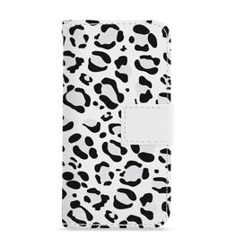 FOONCASE iPhone 5/5s - Luipaard print - Booktype