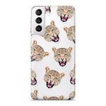 FOONCASE Samsung Galaxy S21 Plus - Cheeky Leopard
