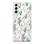 FOONCASE Samsung Galaxy S21 Plus - Lama