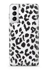 FOONCASE Samsung Galaxy S21 Plus Handyhülle - Leopard