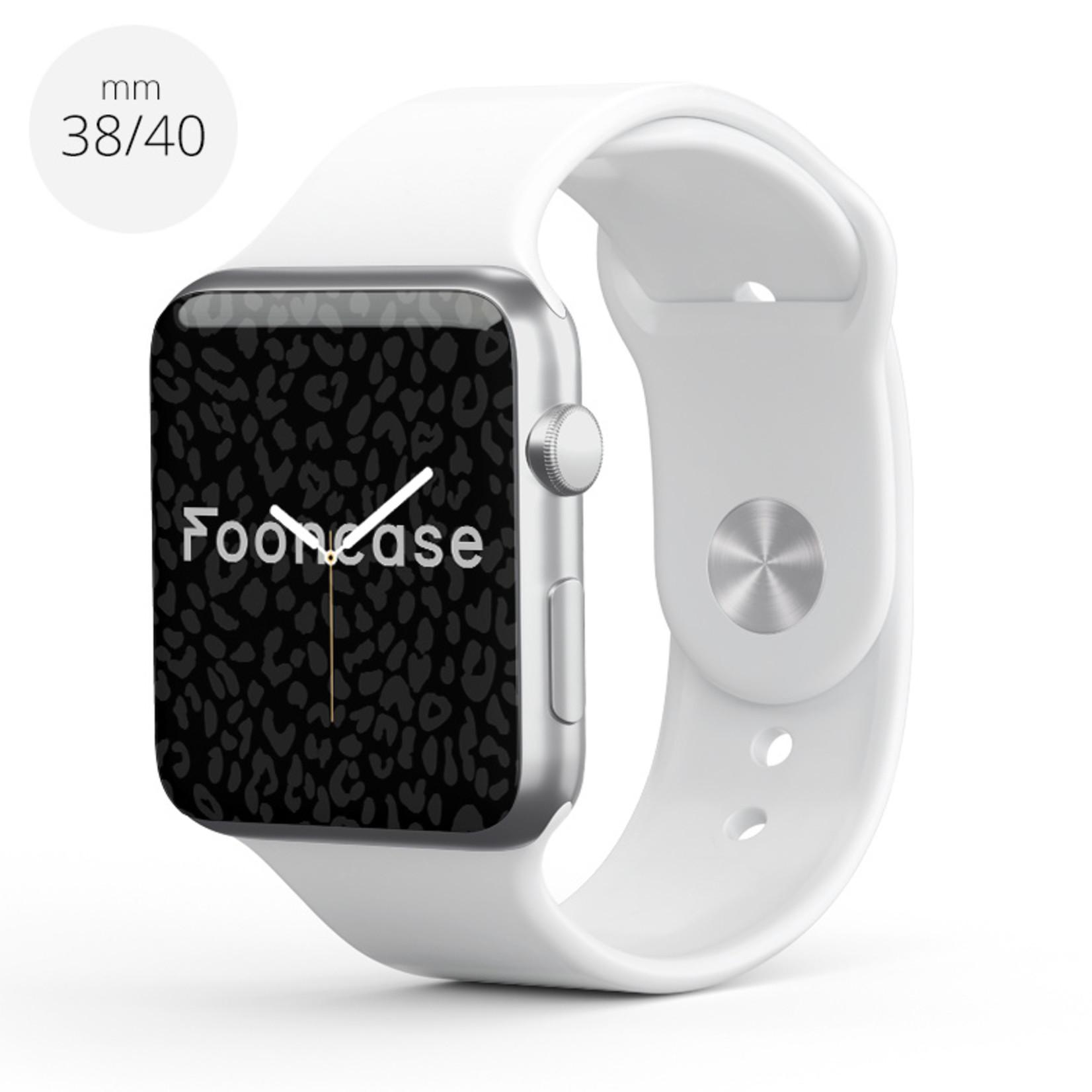 FOONCASE Apple Watch Series (1 t/m 6 / SE) - Weiß - 38/40mm