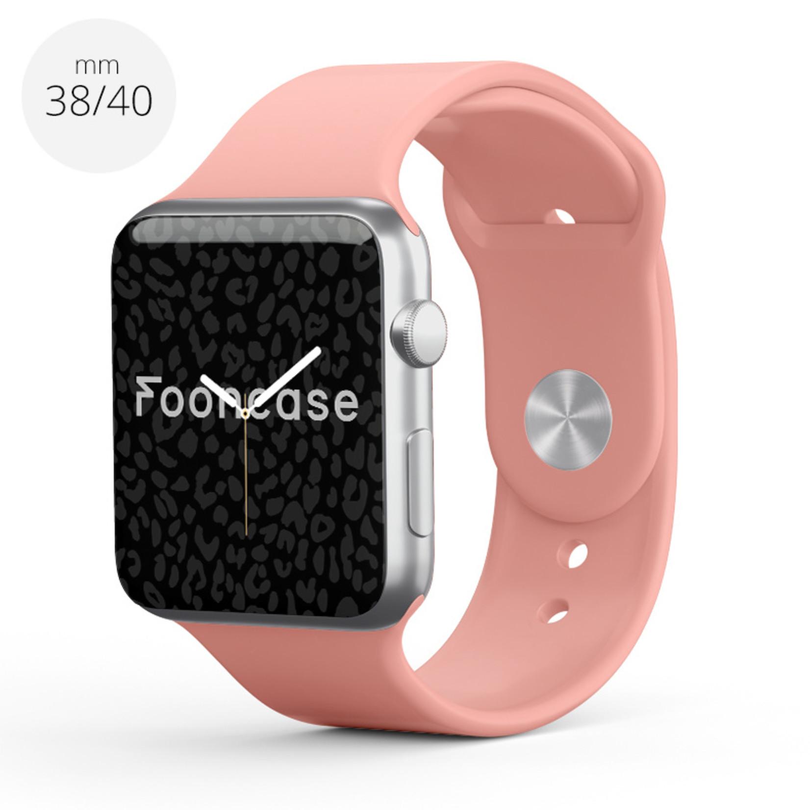 FOONCASE Apple Watch Series (1 t/m 6 / SE) - Peach - 38/40mm