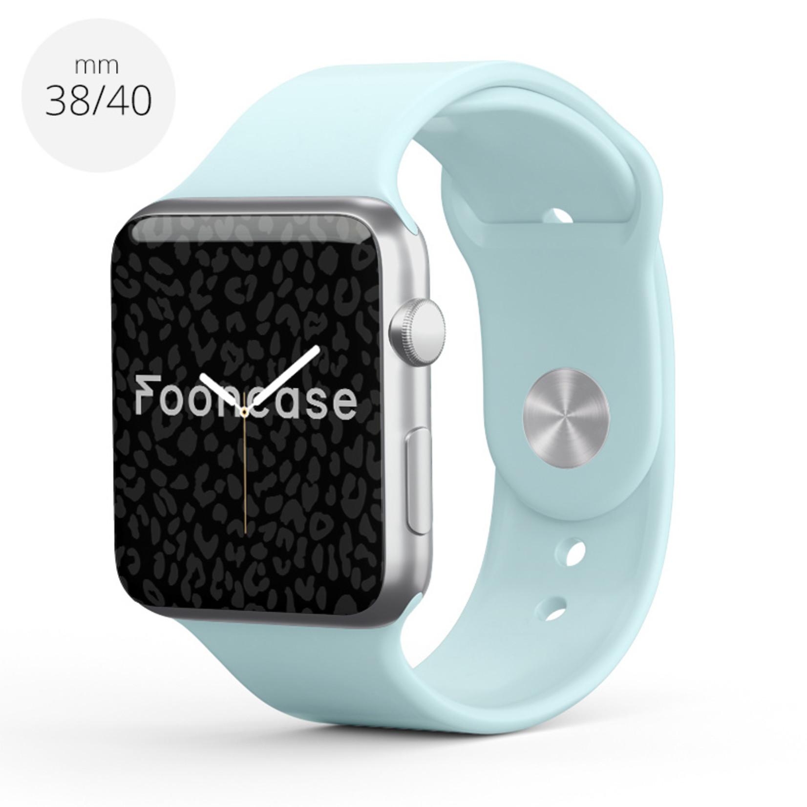 FOONCASE Apple Watch Series (1 t/m 6 / SE) - Minze - 38/40mm
