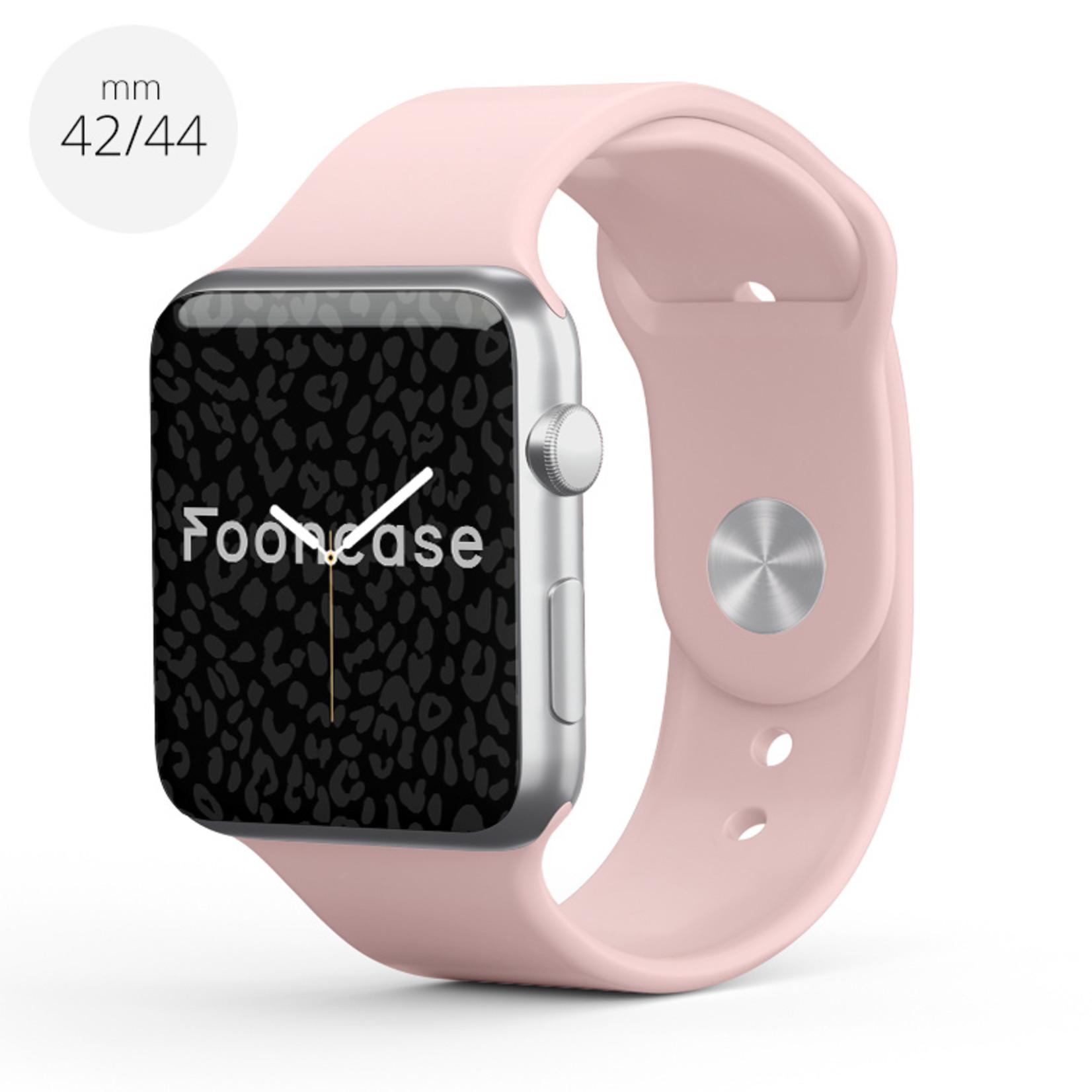 FOONCASE Apple Watch Series (1 t/m 6 / SE) - Altrosa - 42/44mm