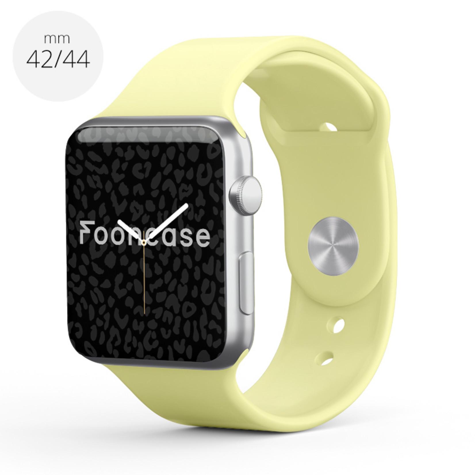 FOONCASE Apple Watch Series (1 t/m 6 / SE) - Lemonade - 42/44mm
