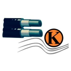 Thermoplastikzwillingsschlauch für den Hochdruckbereich DN 06, übertrifft die Anforderungen nach SAE 100 R1