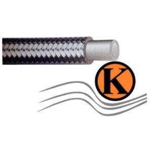 Flexibler Druckschlauch für Mitteldruckanwendungen in der Hydraulik sowie in der chemischen Industrie DN 08