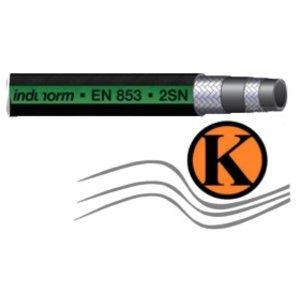 Hydraulikschlauch für Hochdruckanwendungen in der Hydraulik DN 12, nach EN 853-2SN