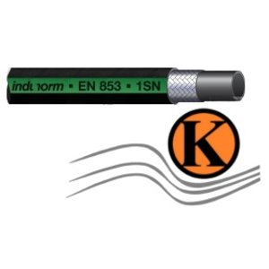 Hydraulikschlauch für Mitteldruck- Anwendungen DN 06, nach EN 853-1 SN