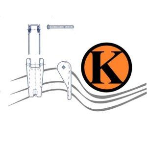 Ersatz Sicherheits-Schmiedefalle für Lasthaken GK 10