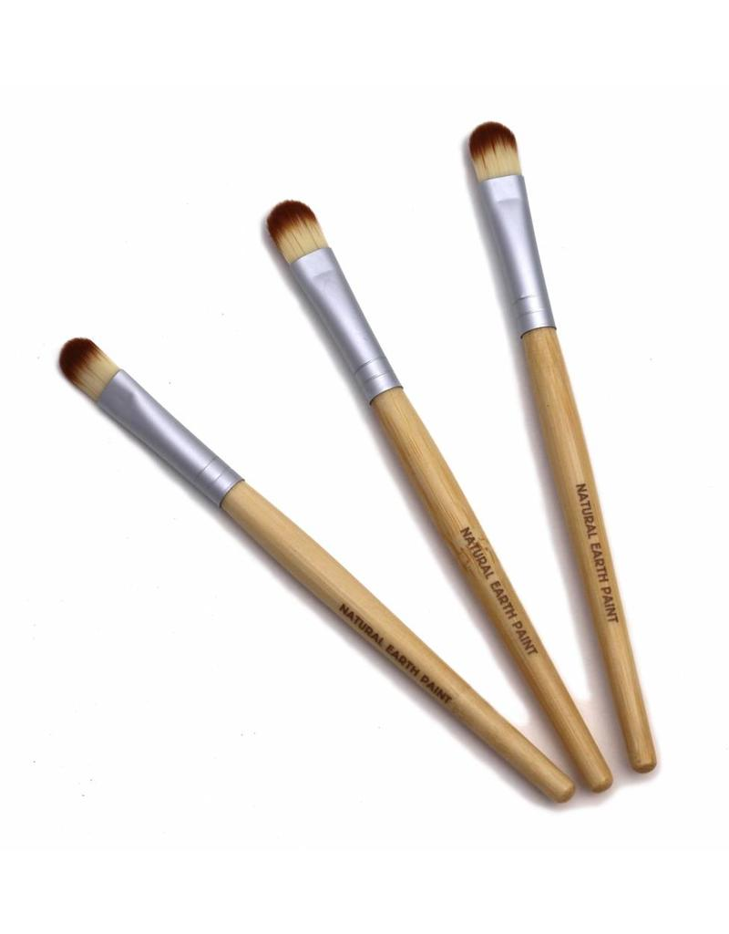 Eco friendly bamboo paint brushes with corn brush