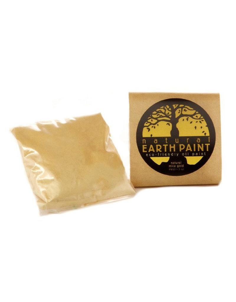 Natural Earth Paint Mica - goudpoeder voor olieverf
