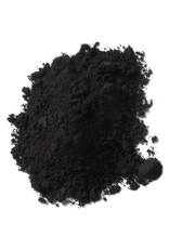 Natural Earth Oil paint made of earth and mineral pigments Black Ocher.