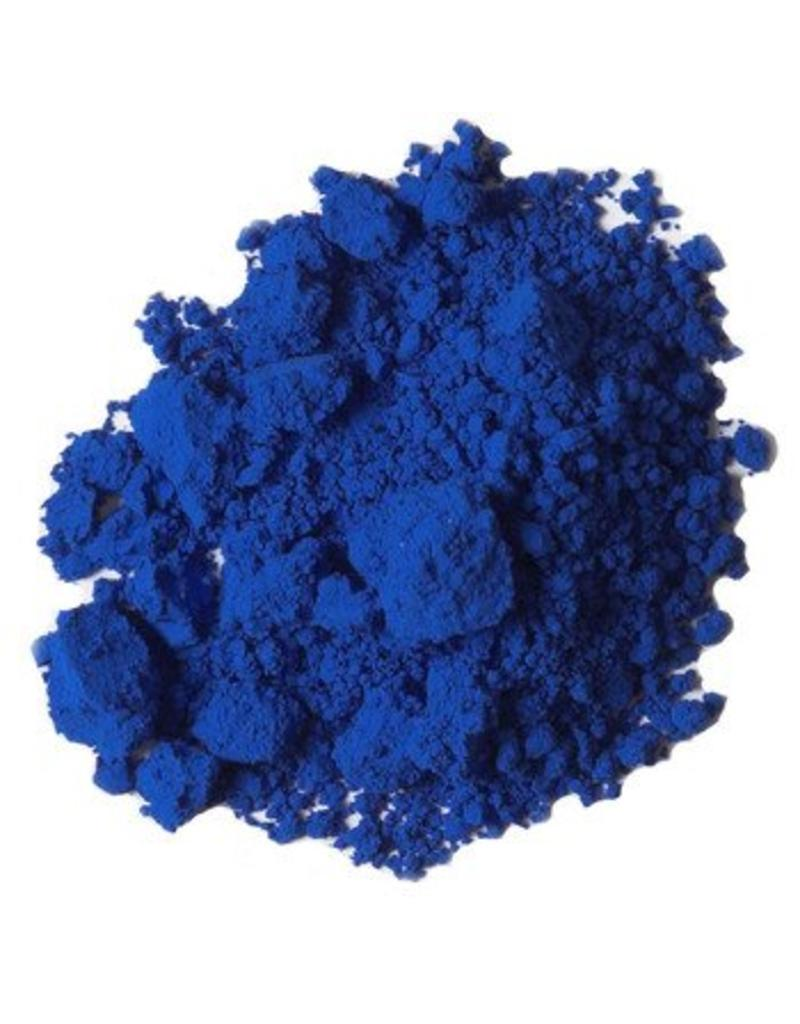 Natural Earth Oil paint made of earth and mineral pigments Ultramarine Blue.