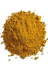 Natural Earth Oil paint made of earth and minerals Yellow Ocher