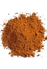 Natural Earth Oil paint made of earth and mineral pigments Orange Ocher.