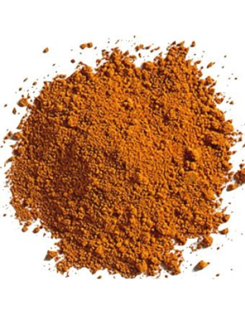 Children's natural Earth Paint by Color orange