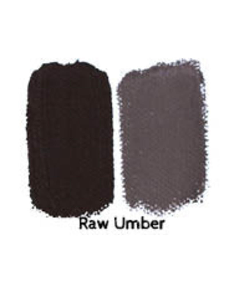Natural Earth Oil paint made of earth and minerals Raw Umber