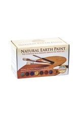 Complete ecological oil paint set with 10 colours