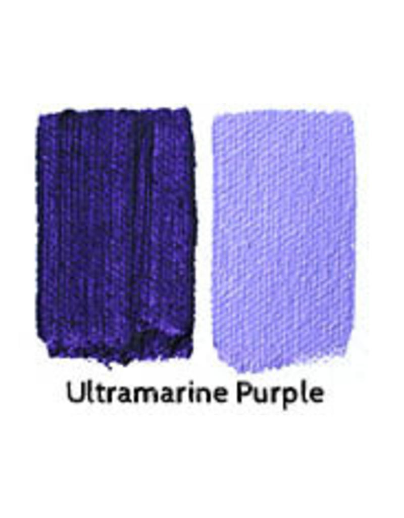 Natural Earth Oil paint made of earth and mineralsUltramarine Purple