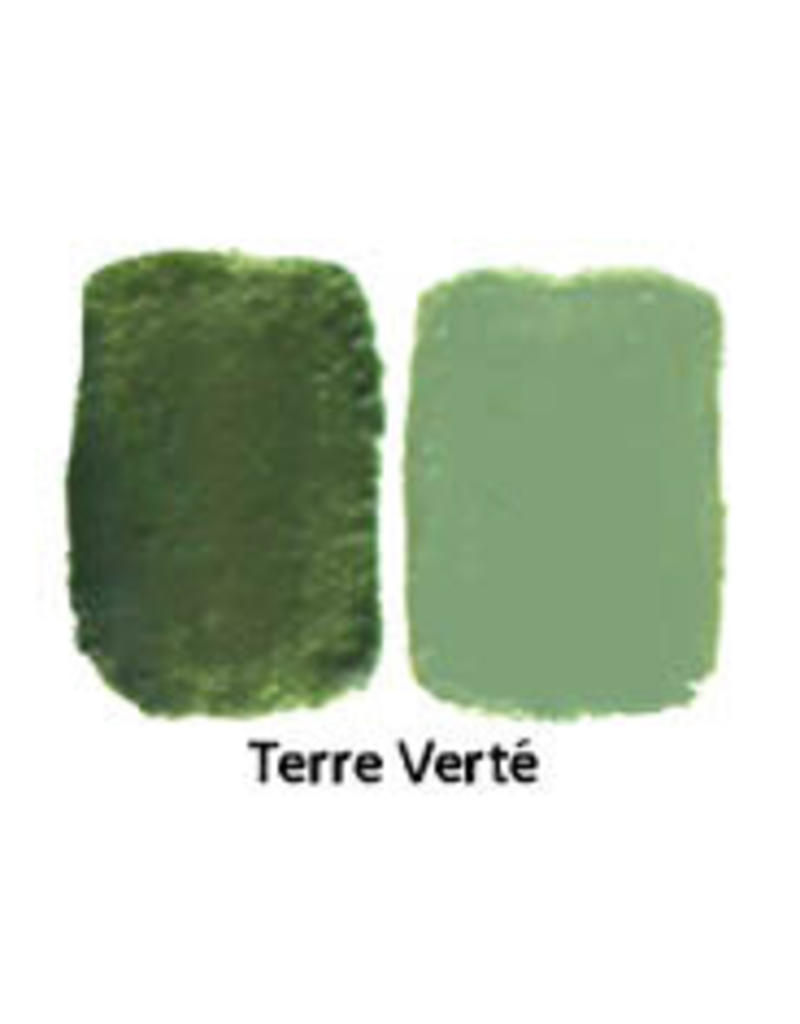 Natural Earth Oil paint made of earth and mineral pigments Terre Verte.