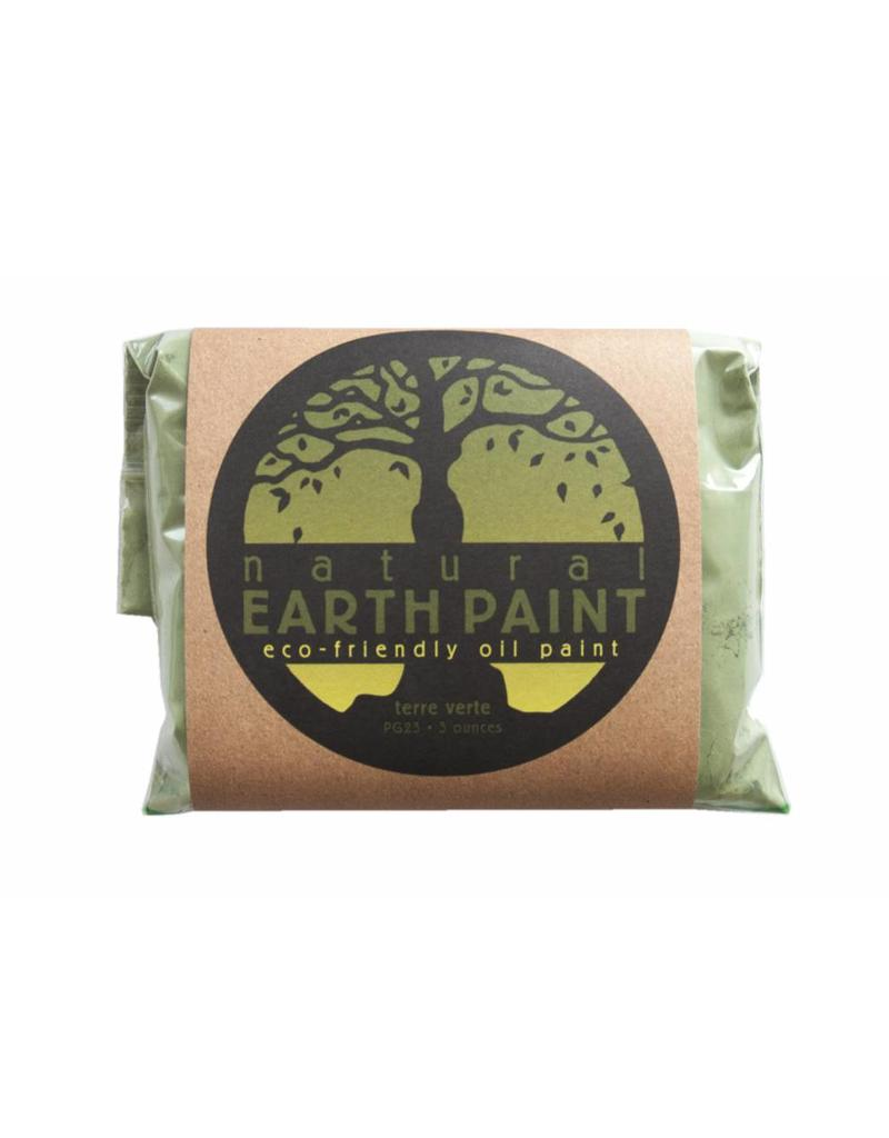 Natural Earth Oil paint made of earth and mineralsTerre Verte