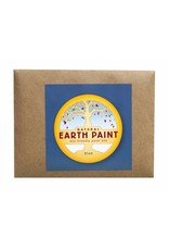 Children's natural Earth Paint by Color blue