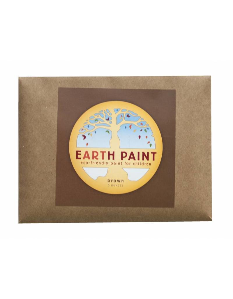 Ecologische kinderverf professionele waterverf per kleur bruin
