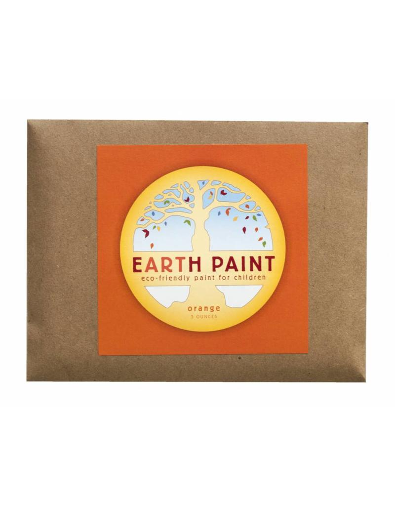 Children's Earth Paint by Color - orange