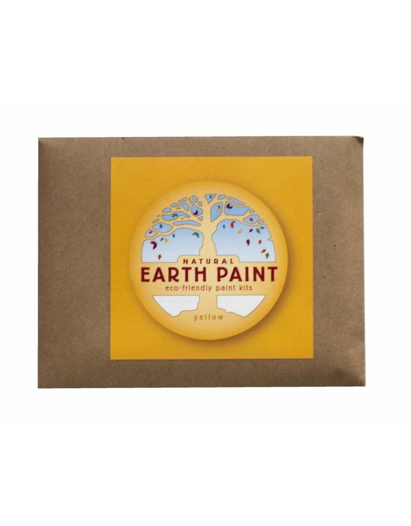 Children's natural Earth Paint by Color yellow