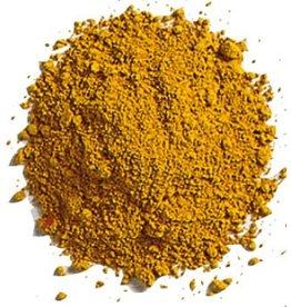 Bulk oil paint pigment Yellow Ochre