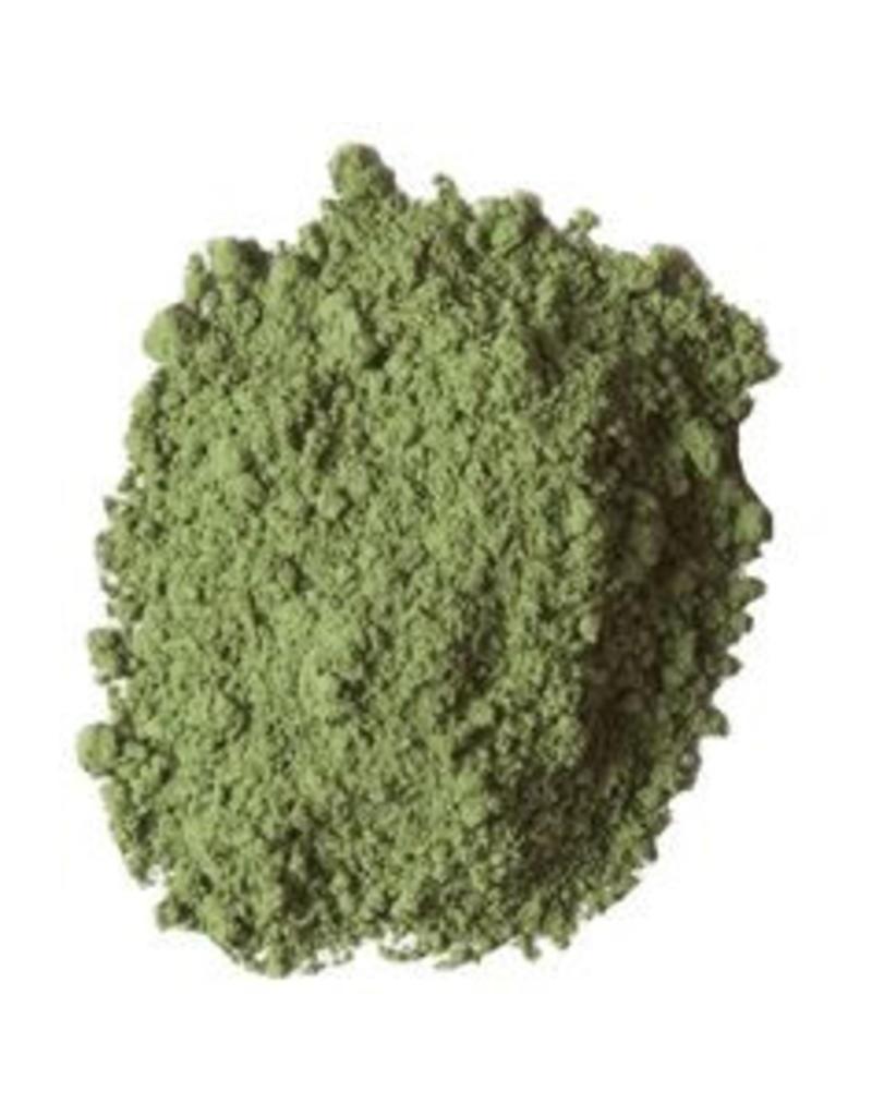 Bulk olieverf pigment kleur Terre Verte Groen