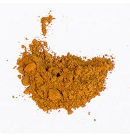 Bulk olieverf pigment Raw Sienna
