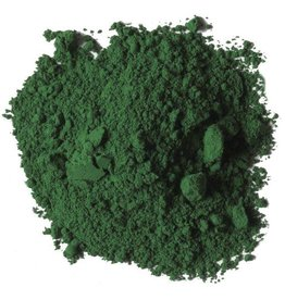 Bulk oil paint pigment Emerald Green