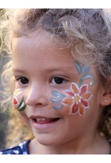 Natural Face paint and Body Paint Individual jar white